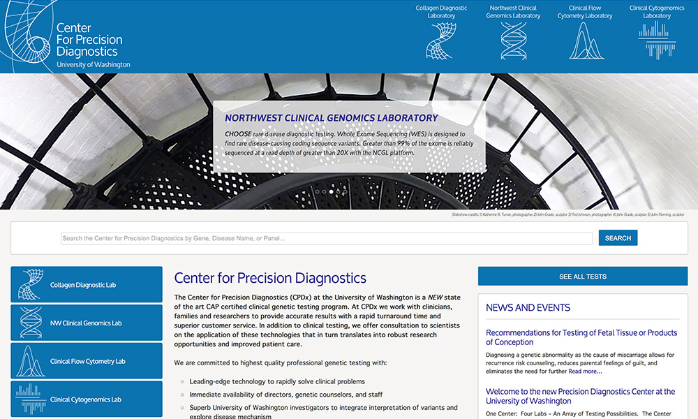 Center for Precision Diagnostics, UW
