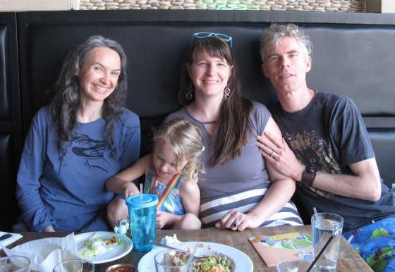 Laura Corsiglia and the Schildbach Family