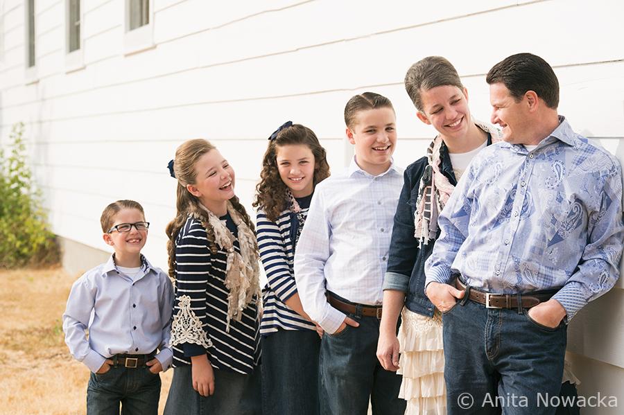 Family of Six, Anita Nowacka Photography